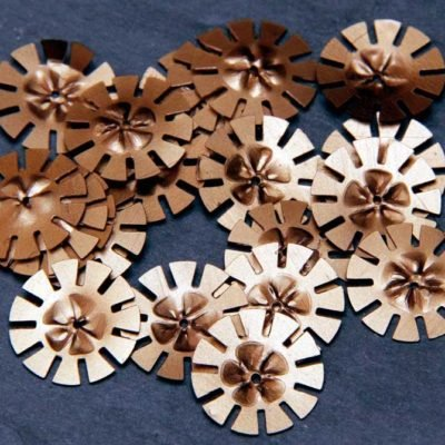 Copper Gears Large 17mm