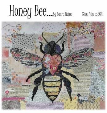 Honey Bee Collage