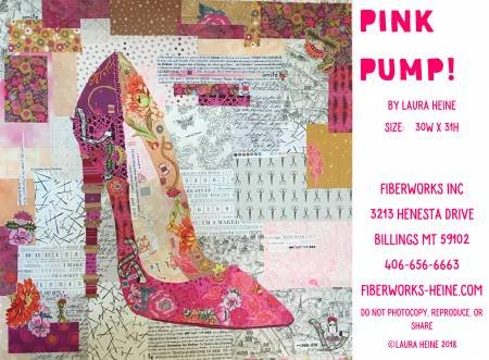 Pink Pump Collage