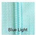 22 Non-separating Zipper Blue Light