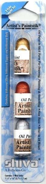 Artist's Paintstik Iridescent Mini Set Metallic