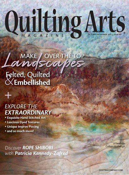 Quilting Arts Oct/November Issue 101