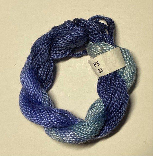 #3 Perle Cotton Periwinkle/Blue