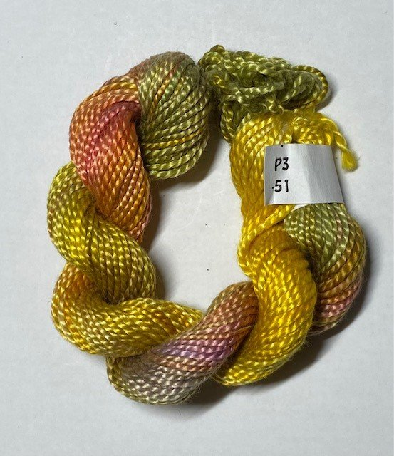 #3 Perle Cotton Yellow/Green
