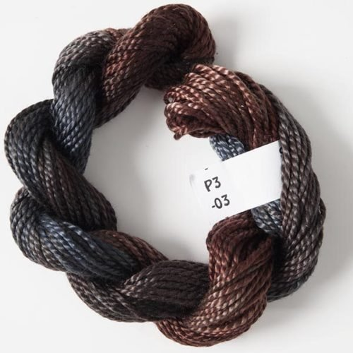 #3 Perle Cotton Brown/Grey