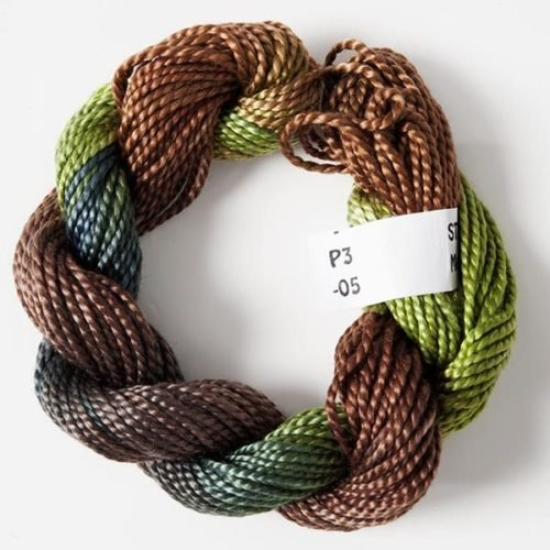 #3 Perle Cotton Brown/Green