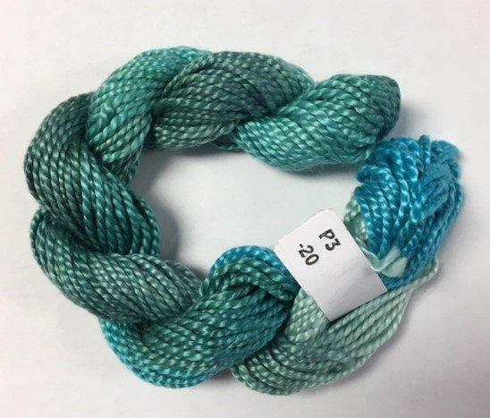Seafoam/Turquoise #3 Perle Cotton