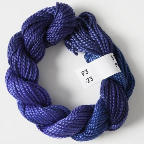 Dark Blues #3 Perle Cotton