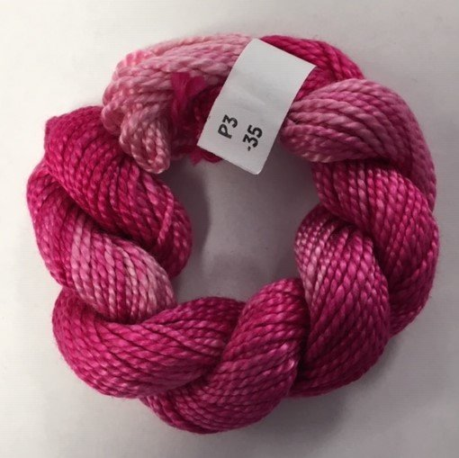 Bright Pink #3 Perle Cotton
