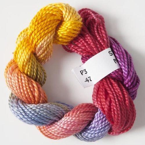 Gold/Mauve/Pinks #3 Perle Cotton