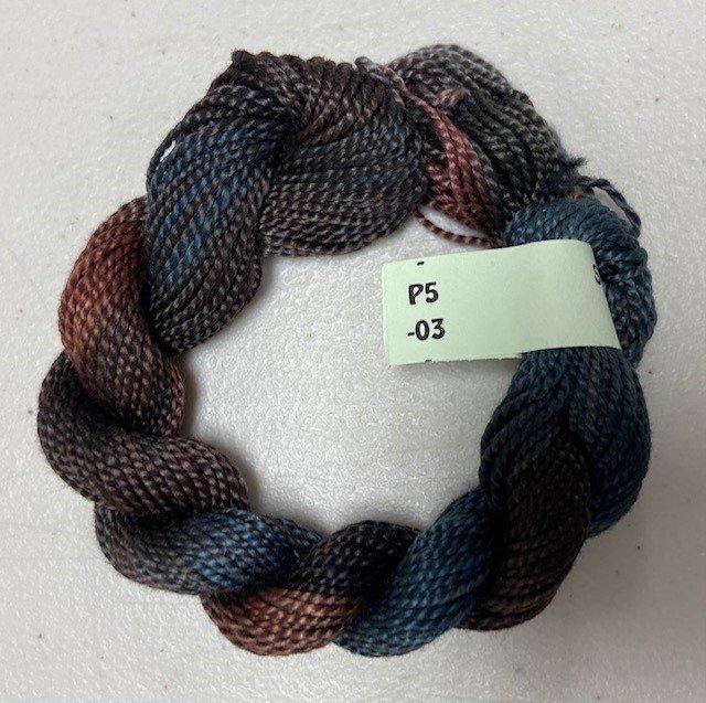 Brown/Grey #5 Perle Cotton