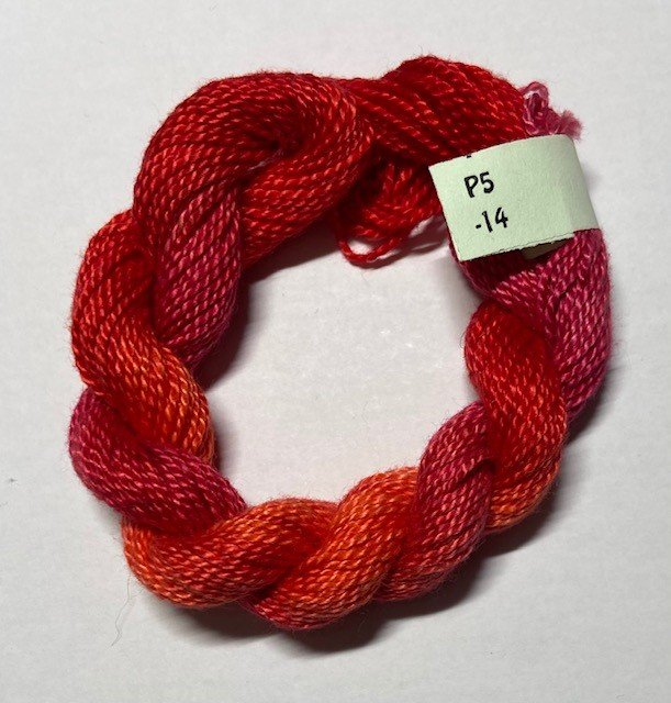 Coral, Red #5 Perle Cotton