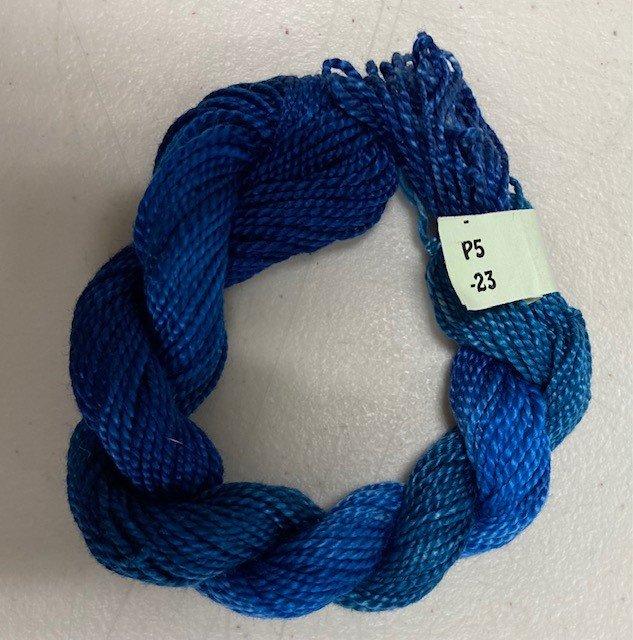 Royal Blue #5 Perle Cotton