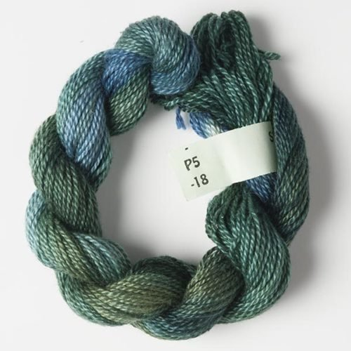 Teals #5 Perle Cotton