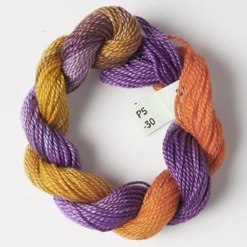 Purple, Orange #5 Perle Cotton