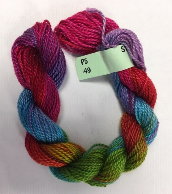 Rainbow #5 Perle Cotton