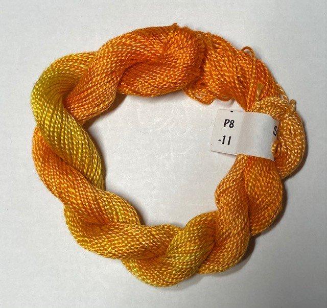 #8 Perle Cotton Orange/Gold