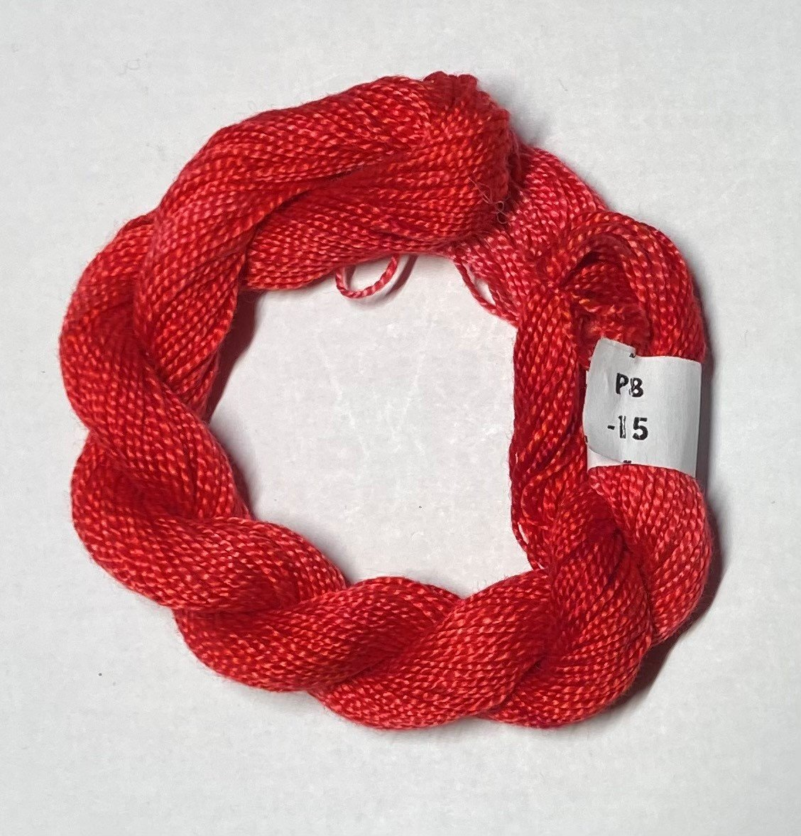 #8 Perle Cotton Red