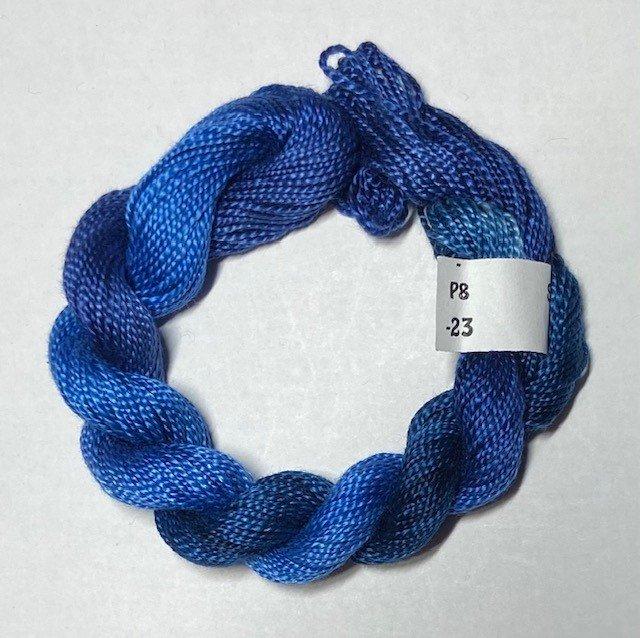 #8 Perle Cotton Dark Blues