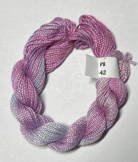 #8 Perle Cotton Mauves
