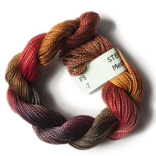 Rust, Brown #8 Perle Cotton