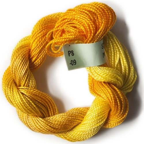 #8 Perle Cotton Yellow/Golds
