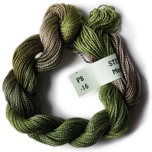 Olive Greens #8 Perle Cotton