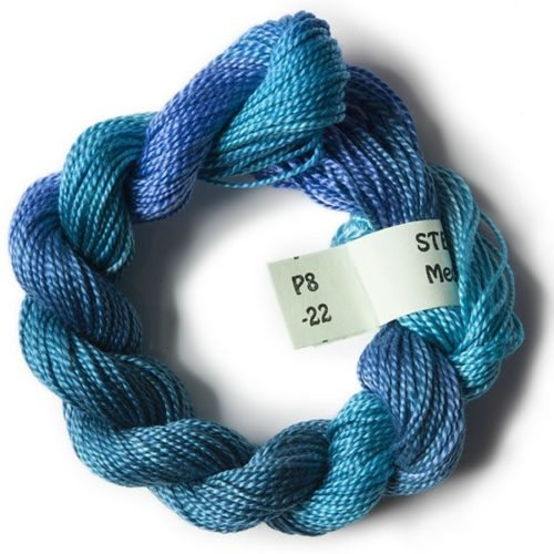 #8 Perle Cotton Medium Blues