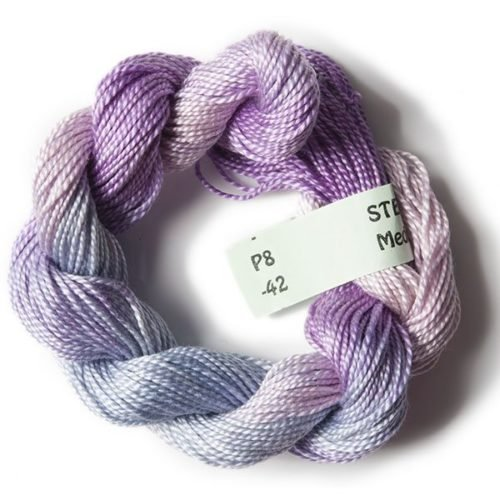 Pastel Purples #8 Perle Cotton