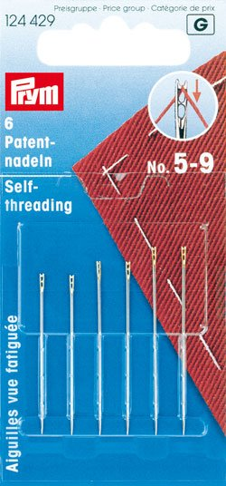 Prym Self Threading Needles 5-9