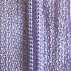 30 Double Pull Non Separating Zipper Purple Heather