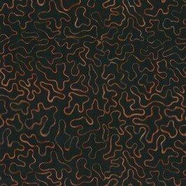 Cantik Batik Puzzle Pieces Black/Rust