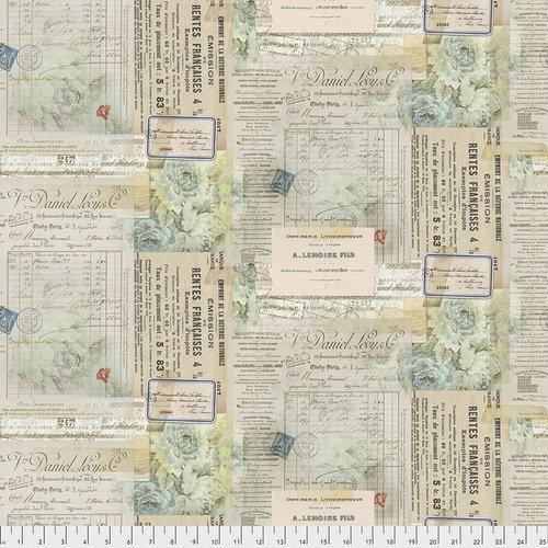 Paris Multi Script & Stamps