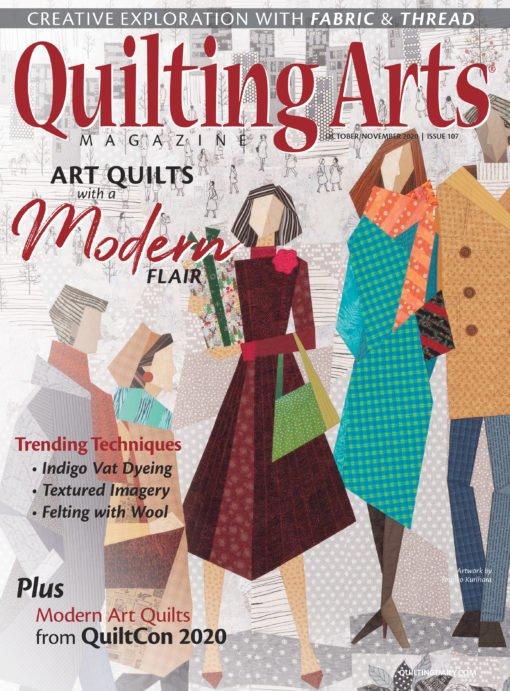 Quilting Arts October/November 2020 Issue 107