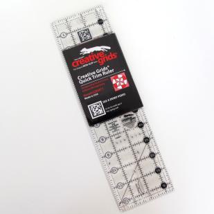 Creative Grids Quick Trim Ruler 3.5'' x 12.5''
