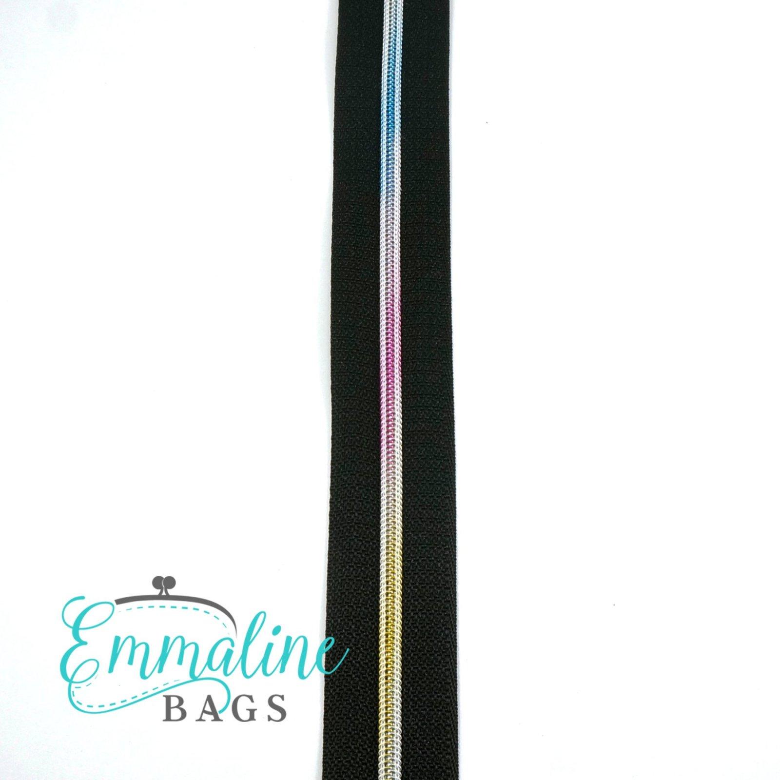 #3 Zipper by the Inch Rainbow