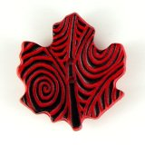 Maple Leaf Black/Red X-Large