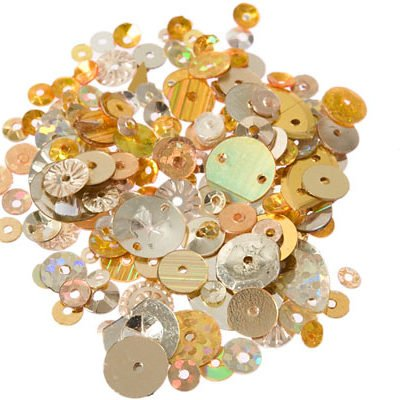 Gold Assorted Sizes & Shapes