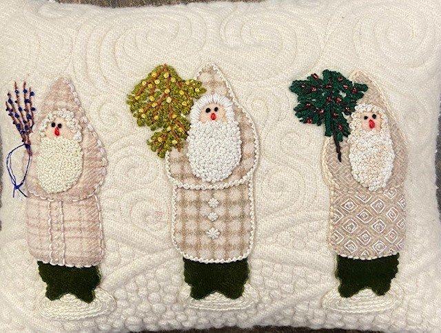 Elegant Santa Pillow Kit