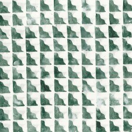 Cantik Batik Quebec Speed Bumps Cream/Green