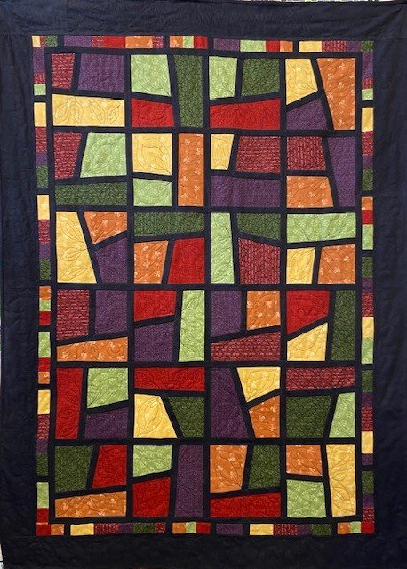 Fat Quarter Stained Glass