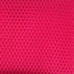 Mesh Fabric By Annie Lipstick Pink