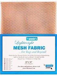 Mesh Fabric By Annie Natural