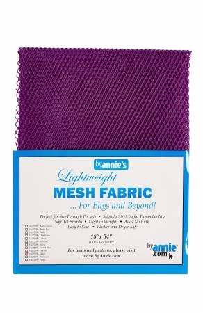 Mesh Fabric By Annie Tahiti Purple