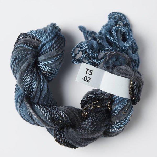 Navy Texture Yarn