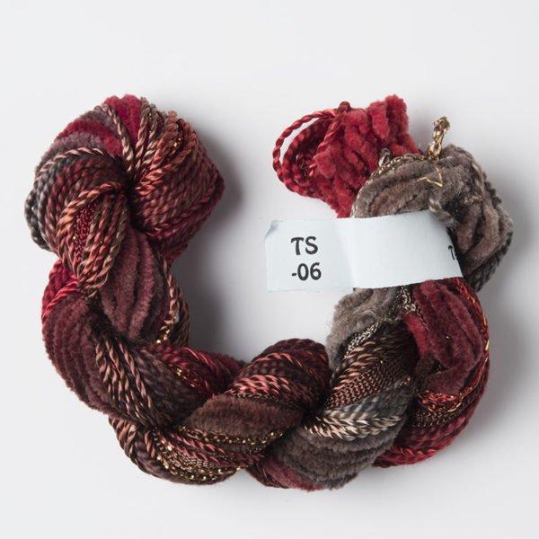 Rust /Brown Texture Yarn
