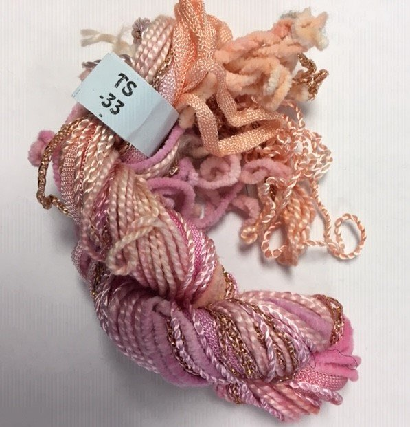 Soft Pink Texture Yarn