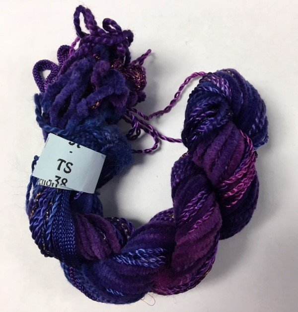 Purple Texture Yarn