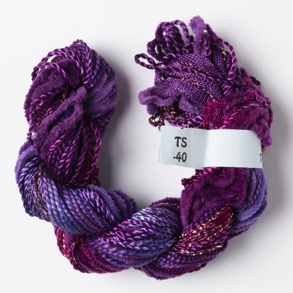 Magenta Texture Yarn
