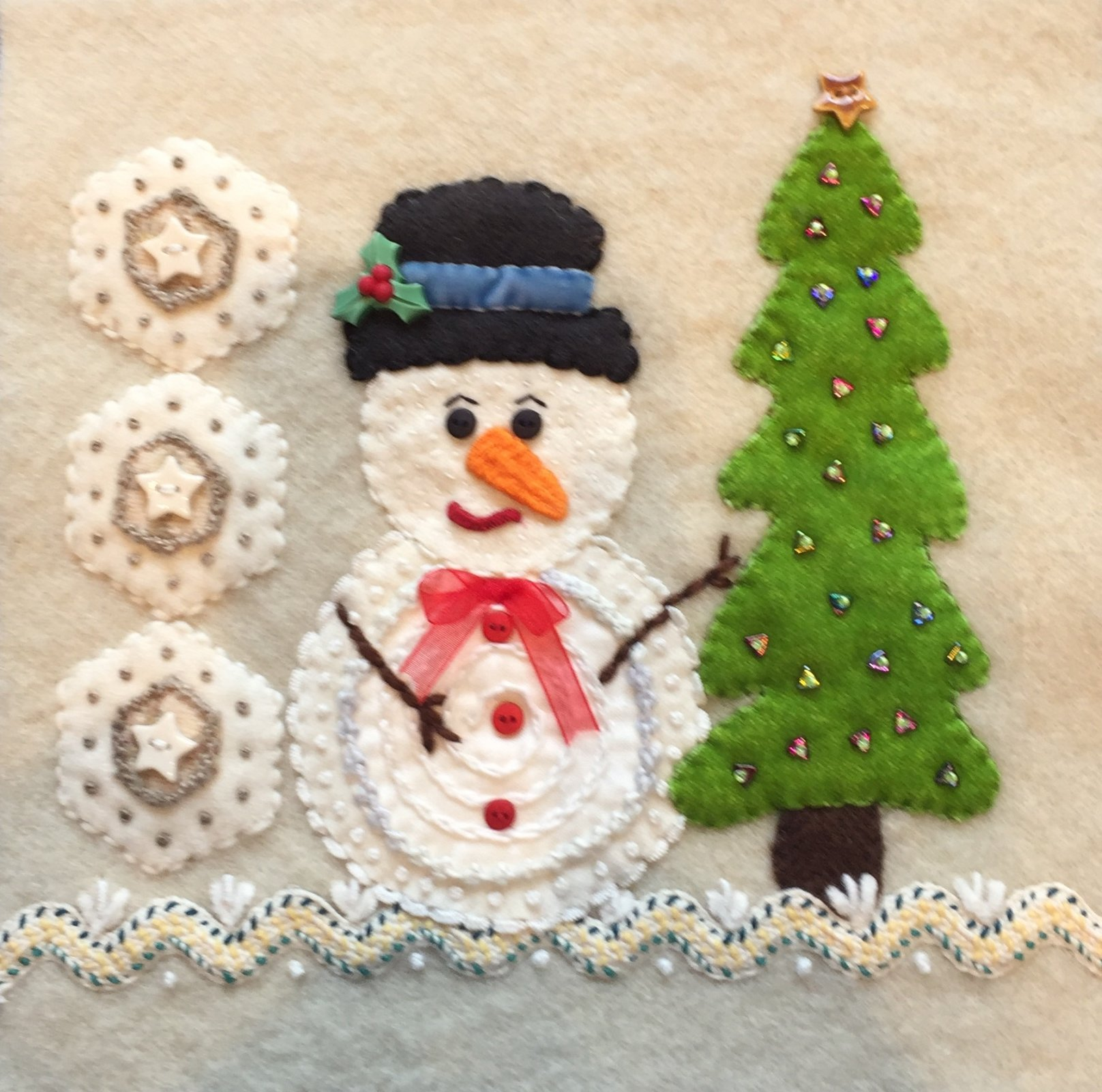 Winter Wonderland Wooly Block Adventure Kit